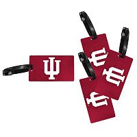 Indiana Hoosiers 4-Pack Luggage Tag Set