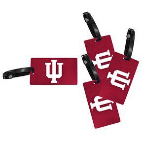 Indiana Hoosiers 4-Pack Luggage Tag Set