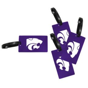 Kansas State Wildcats 4-Pack Luggage Tag Set