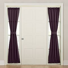 Sun Zero 1-Panel Gramercy Side Light Window Curtain