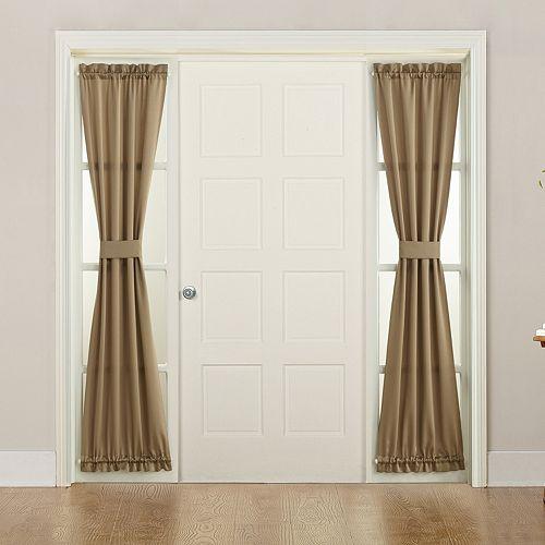 Sun Zero 1-Panel Gramercy Side Light Window Curtain