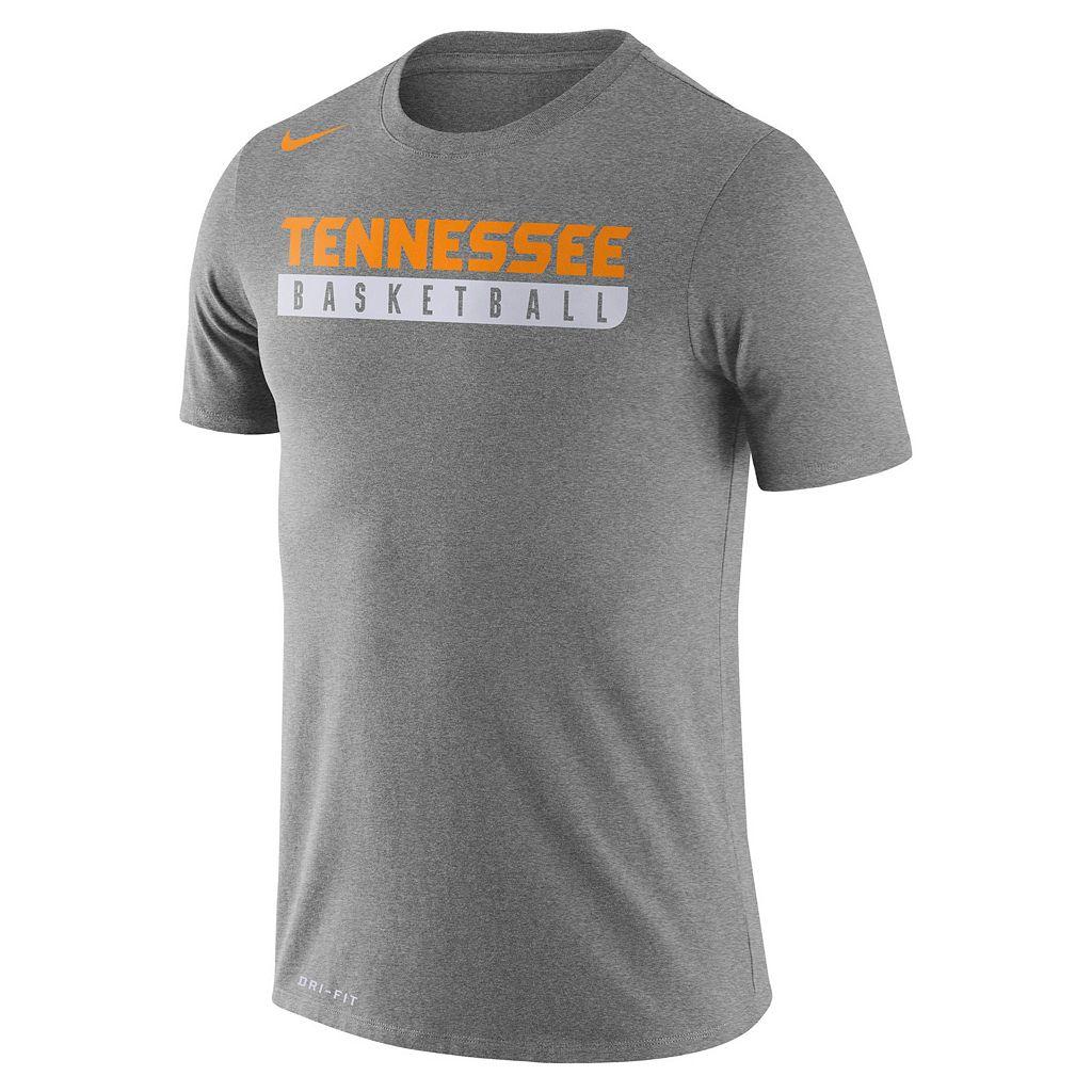 Men's Nike Tennessee Volunteers Basketball Practice Dri-FIT Tee