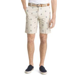 Men's IZOD Schiffli Classic-Fit Flat-Front Shorts