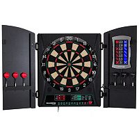 Bullshooter Cricket Maxx 1.0 Electronic Dartboard & Cabinet Set