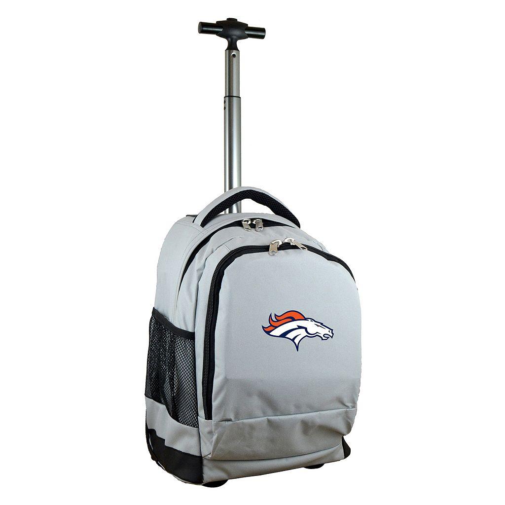 Denver Broncos Premium Wheeled Backpack