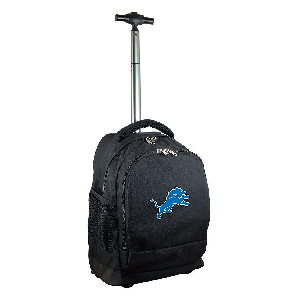 Detroit Lions Premium Wheeled Backpack