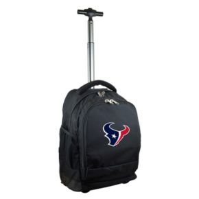 Houston Texans Premium Wheeled Backpack