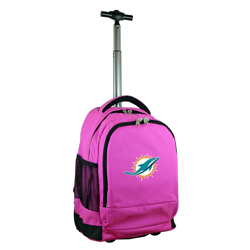 Miami Dolphins Premium Wheeled Backpack