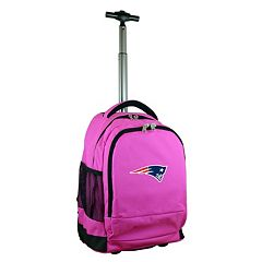 New England Patriots Premium Wheeled Backpack