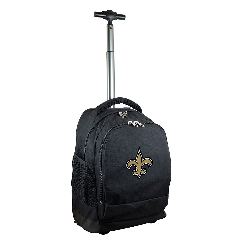 New Orleans Saints Premium Wheeled Backpack