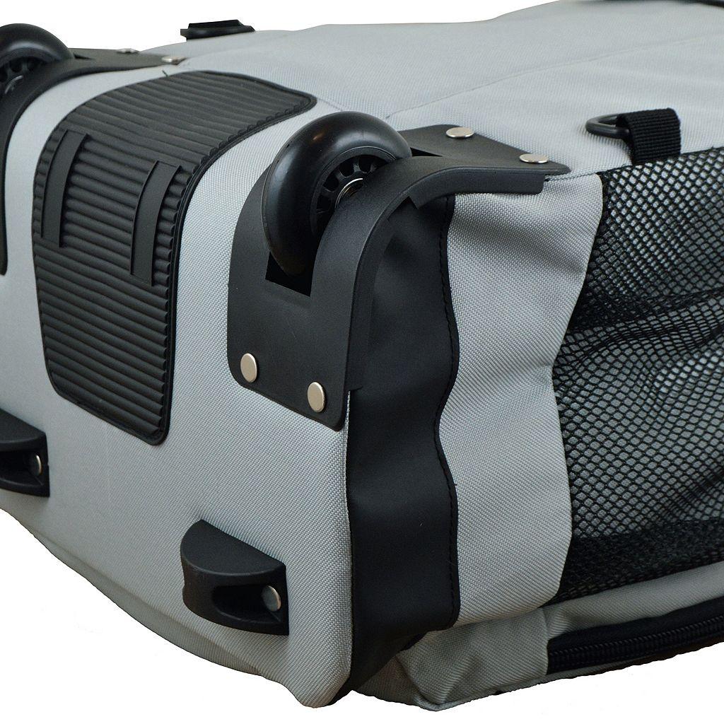 Oakland Raiders Premium Wheeled Backpack