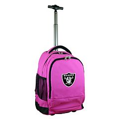 Oakland Raiders Premium Wheeled Backpack