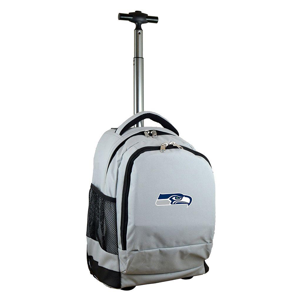 Seattle Seahawks Premium Wheeled Backpack
