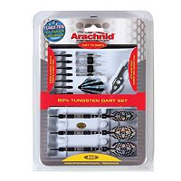 Arachnid 3-pk. 80% Tungsten Soft Dart Set