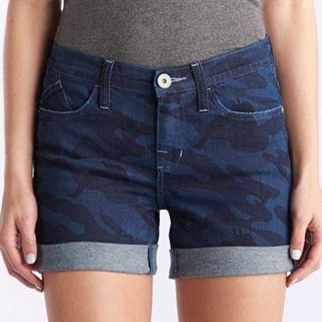 Women's Rock & Republic® Bumpershoot Camo Jean Shorts