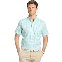 Men's IZOD Advantage Gingham Button-Down Shirt