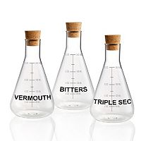 Artland Mixology Mixer Decanter 3-pc. Set.