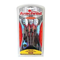Arachnid 3-pk. Tungsteel-Plated Soft Dart Set