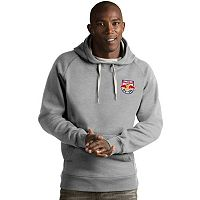 Men's Antigua New York Red Bulls Victory Pullover Hoodie