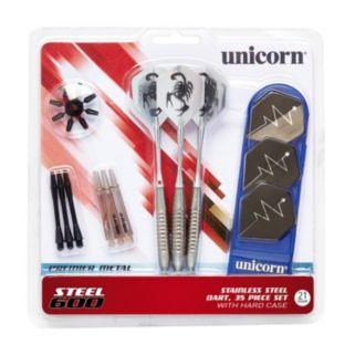 Unicorn Steel 600 3-pk. Stainless Steel Dart Set