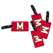 Maryland Terrapins 4-Pack Luggage Tag Set