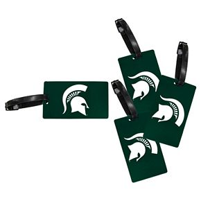 Michigan State Spartans 4-Pack Luggage Tag Set