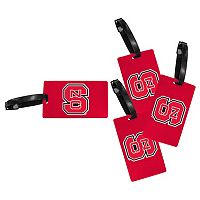 North Carolina State Wolfpack 4-Pack Luggage Tag Set