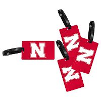 Nebraska Cornhuskers 4-Pack Luggage Tag Set