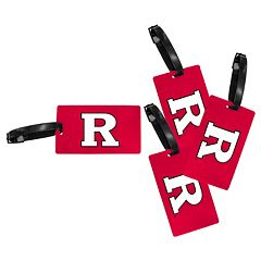 Rutgers Scarlet Knights 4-Pack Luggage Tag Set
