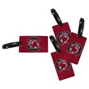 South Carolina Gamecocks 4-Pack Luggage Tag Set