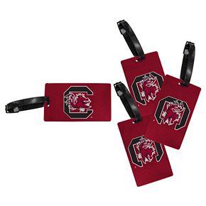 South Carolina Gamecocks 4-Pack Luggage Tag Set