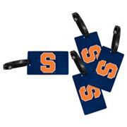 Syracuse Orange 4-Pack Luggage Tag Set