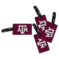 Texas A&M Aggies 4-Pack Luggage Tag Set