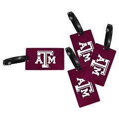Texas A&M Aggies 4-Pack Luggage Tag Set
