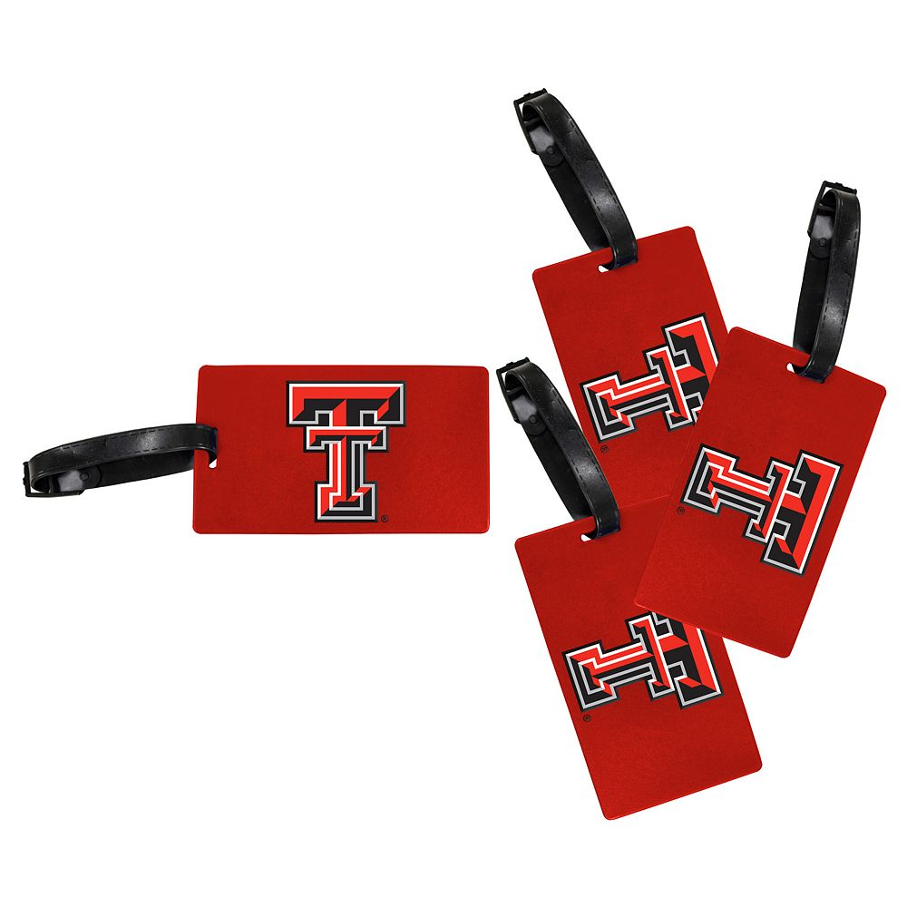 Texas Tech Red Raiders 4-Pack Luggage Tag Set
