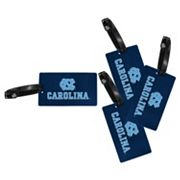 North Carolina Tar Heels 4-Pack Luggage Tag Set