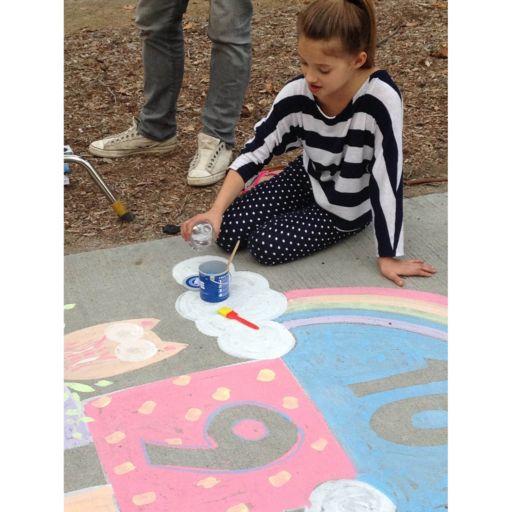 RoseArt Washable Sidewalk Chalk Paint 40-pc. Deluxe Set
