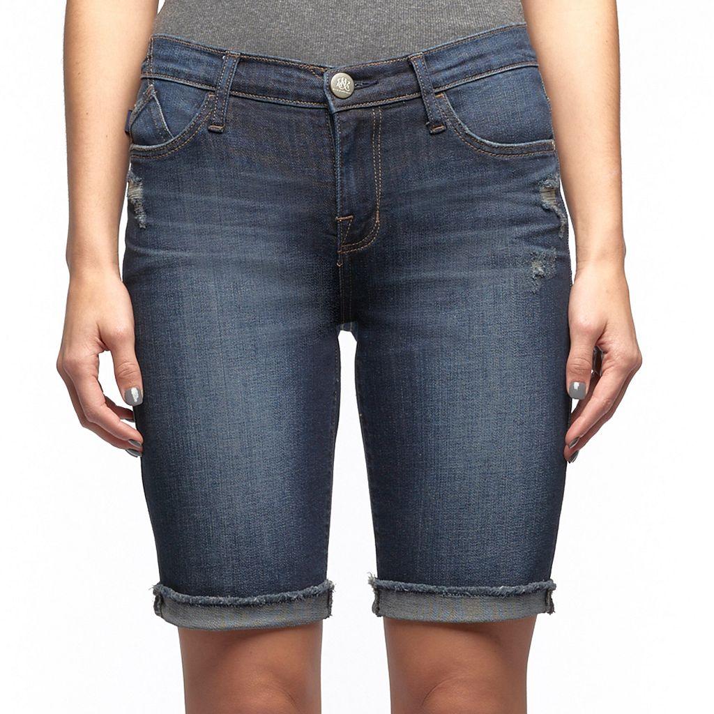Women's Rock & Republic® Kristy Distressed Jean Shorts