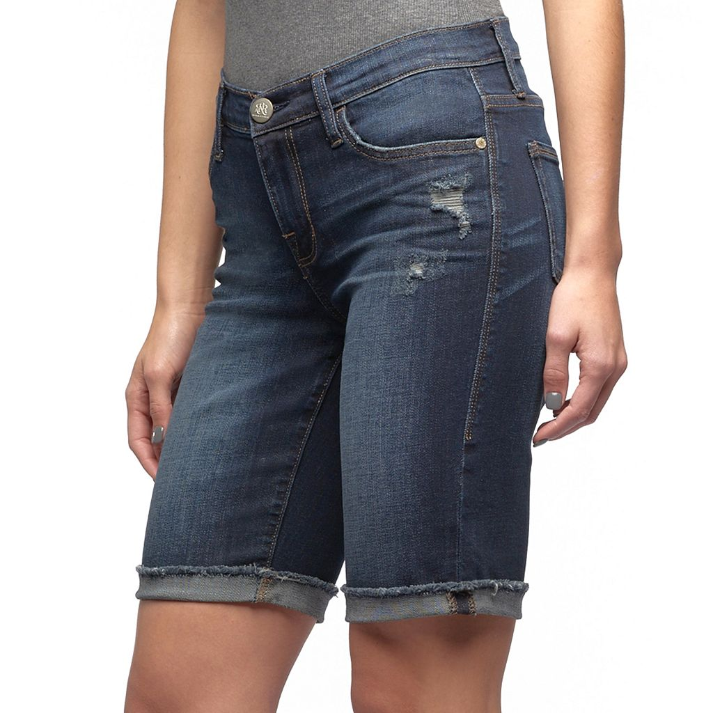Women's Rock & Republic® Kristy Distressed Jean Shorts