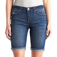 Women's Rock & Republic® Kristy Flag Bermuda Jean Shorts