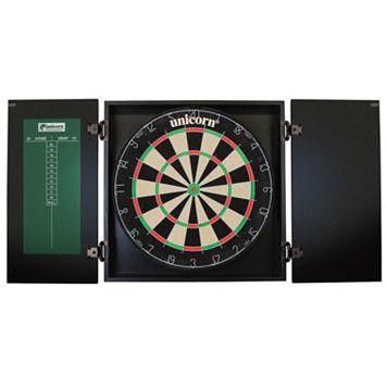 Unicorn Oxford Bristle Dartboard & Cabinet Set