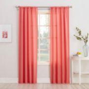 No 918 Rapture Heathered Semi-Sheer Window Curtain