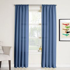 No 918 1-Panel Rapture Heathered Semi-Sheer Window Curtain