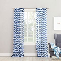 No 918 1-Panel Turia Window Curtain