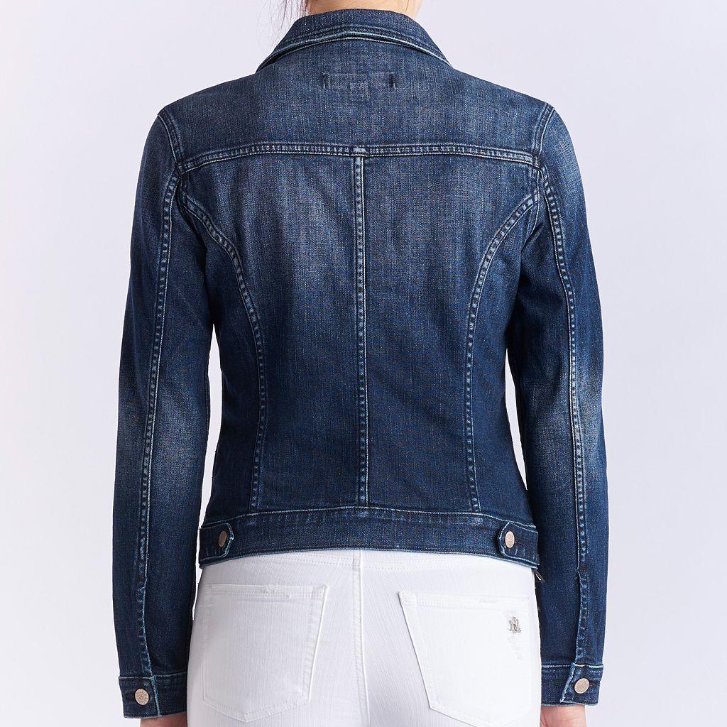 Women's Rock & Republic® Faded Denim Jacket