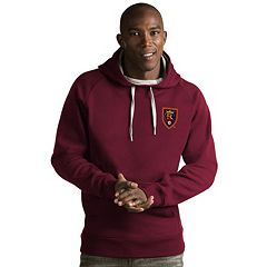 Men's Antigua Real Salt Lake Victory Pullover Hoodie