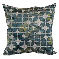 Brentwood Woven Butterfly Kiss Geometric Throw Pillow