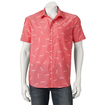 Men's Budweiser Button-Down Shirt