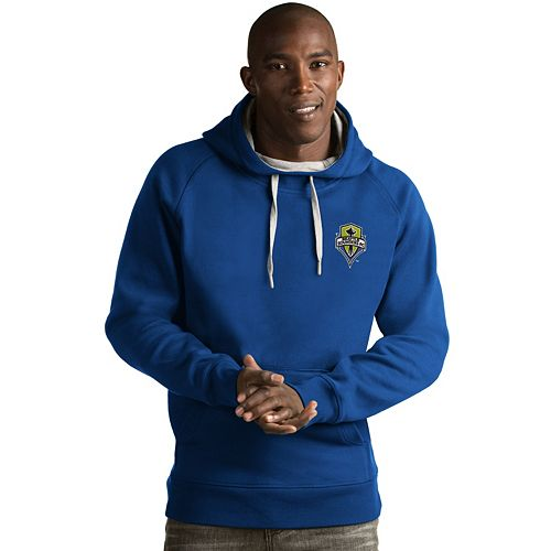 Men's Antigua Seattle Sounders Victory Pullover Hoodie