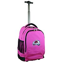 Colorado Avalanche Premium Wheeled Backpack